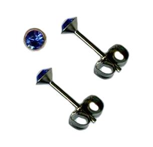 Swarovski Crystal Post Earrings