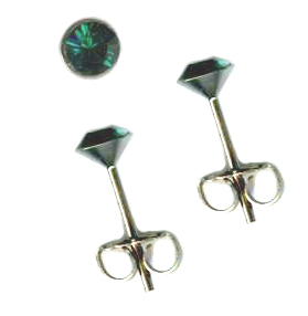 Swarovski Crystal Post Earrings