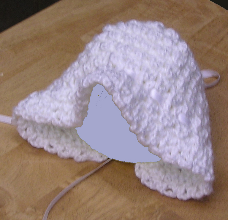 handmade crochet hat for baby girl