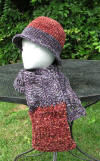 Custom Chenille Hat & Scarf Set