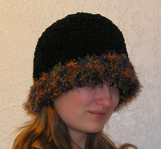 Midnight Sky Crocheted Hat