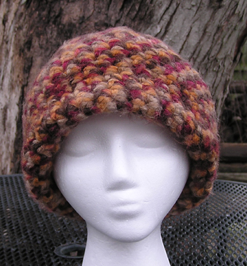 Adirondack Crochet Hat Side View