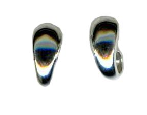 Argentium Silver hypoallergenic post earrings