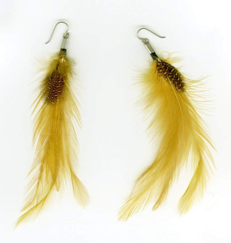 hypoallergenic feather Earrings