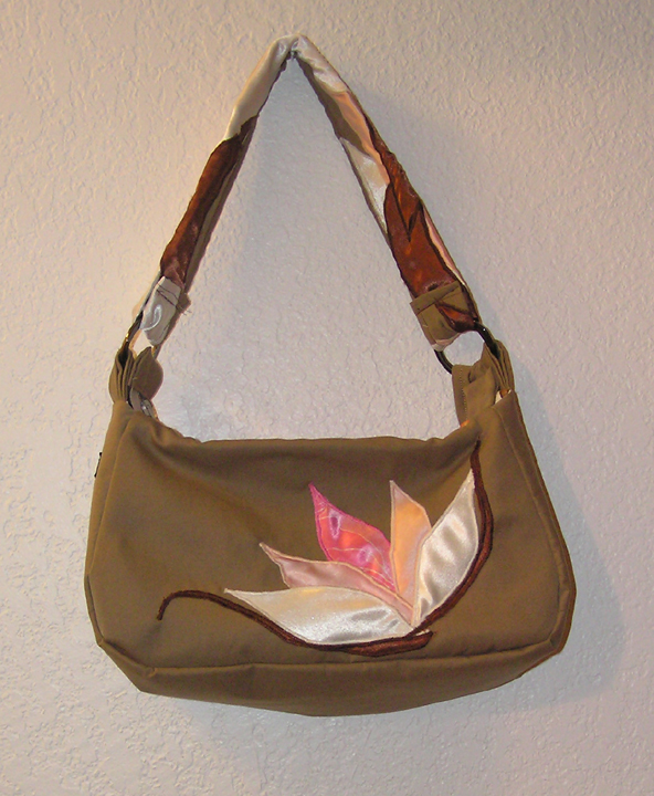 Handcrafted designer purse by The Zen Lady
