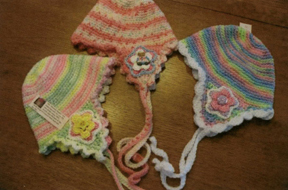 Buster Beanies for babies by Grace