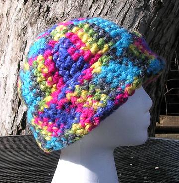 Catskills Crochet Hat Side View