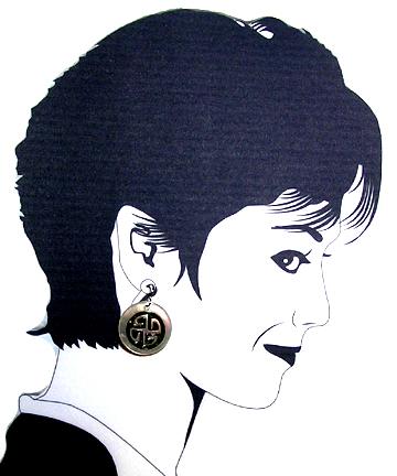hypoallergenic Celtic  Earrings