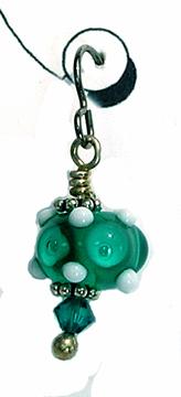 hypoallergenic handcrafted lampwork bead earrings