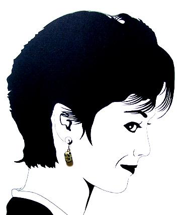 dalmation jasper  Hypoallergenic Earrings