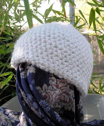 double layer crochet hat