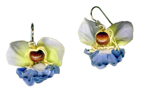 hypoallergenic handcrafted fairy earrings