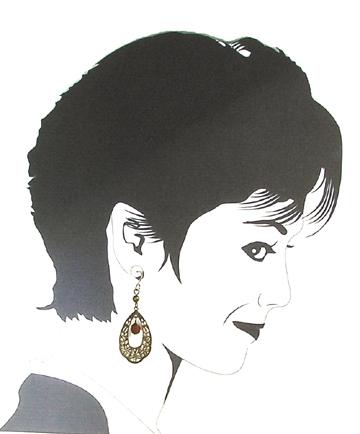 hypoallergenic filigreel earrings