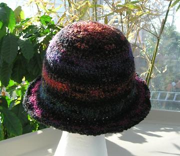 boucle crochet hat