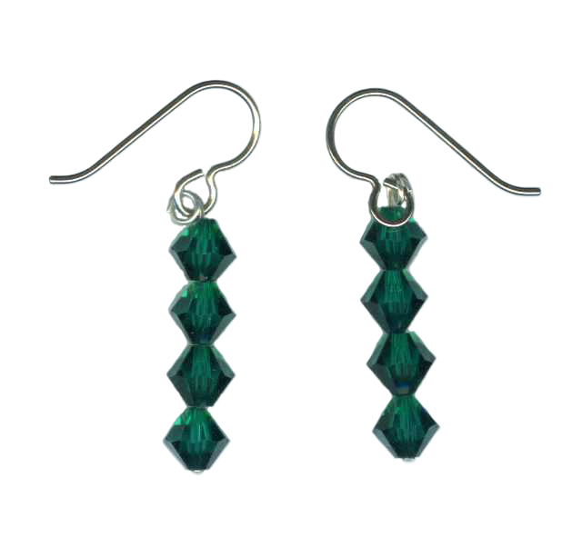 Swarovski crystal  Hypoallergenic Earrings