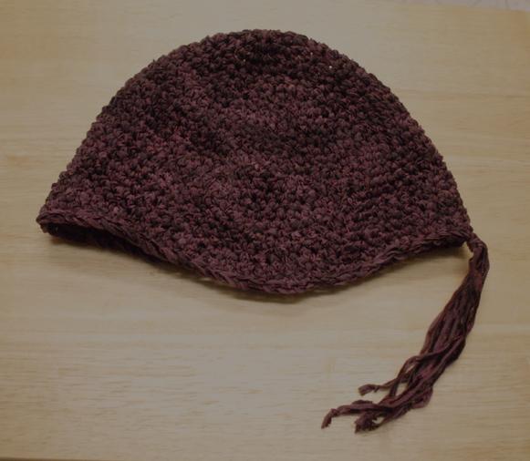 Gypsy ribbon crochet hat
