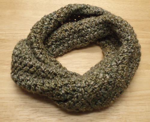 Helix crochet Scarf
