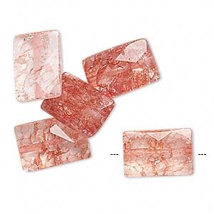 hypoallergenic ice flake quartz earrings