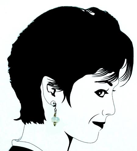 hypoallergenic opalite earrings