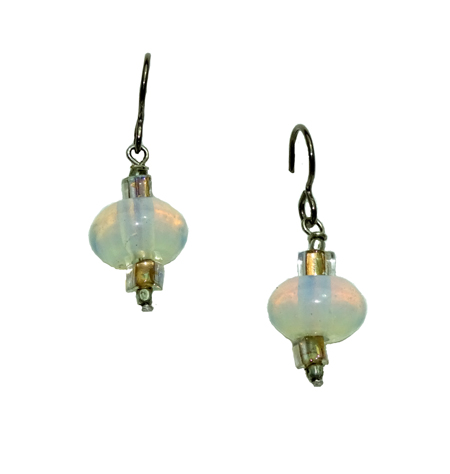 hypoallergenic opalite earrings
