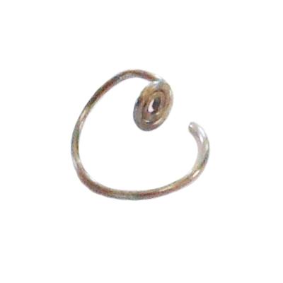 titanium mini hoop sleeper earrings
