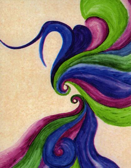 Spirit Woman Zen Note Card