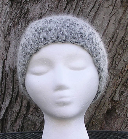 Moonlight Mohair crochet hat