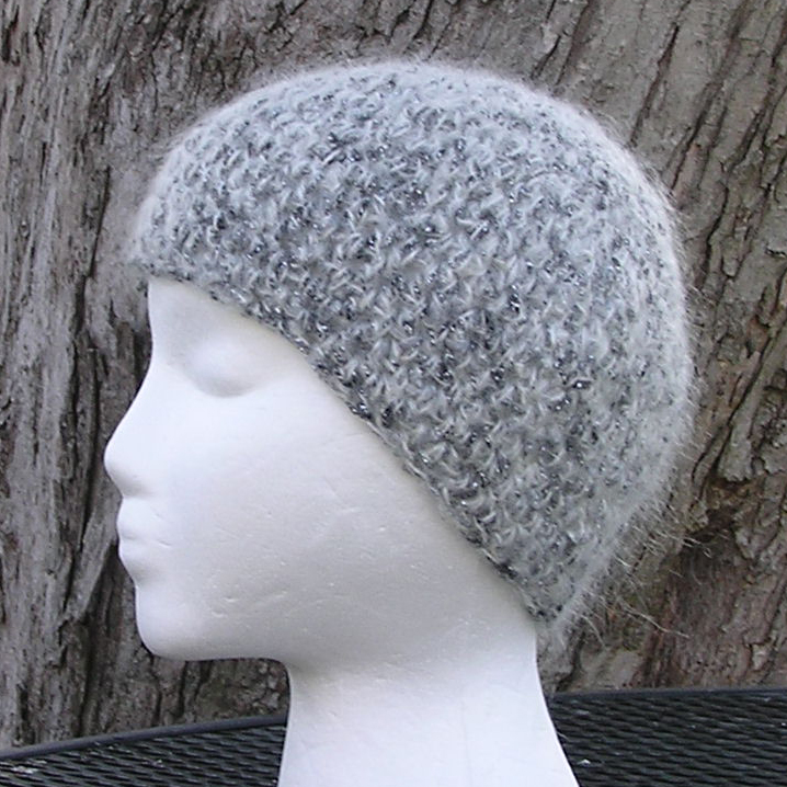 Moonlight Mohair crochet hat