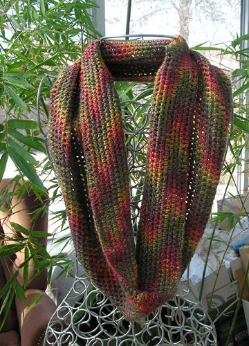 custom bamboo silk infinity scarf