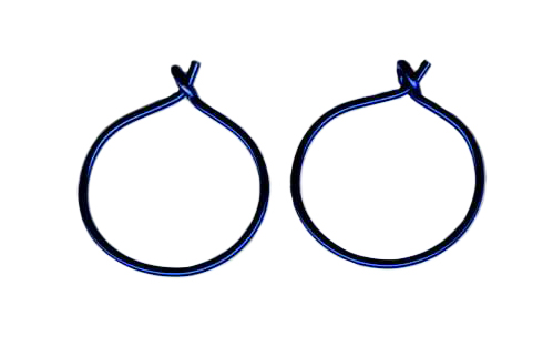 nioibum endless hoop earrings