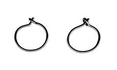niobium mini hoops