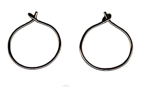 nioibum endless hoop earrings