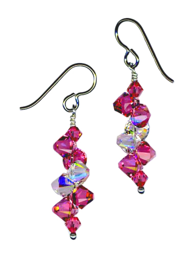 Swarovski dangle earrings
