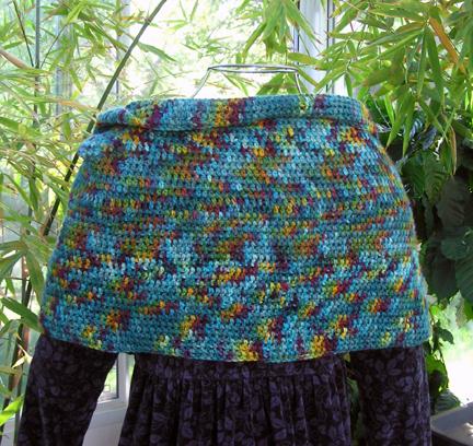 custom mobius shawl