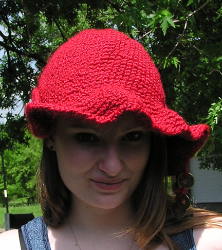 Flamboyant Aussie Crocheted Hat