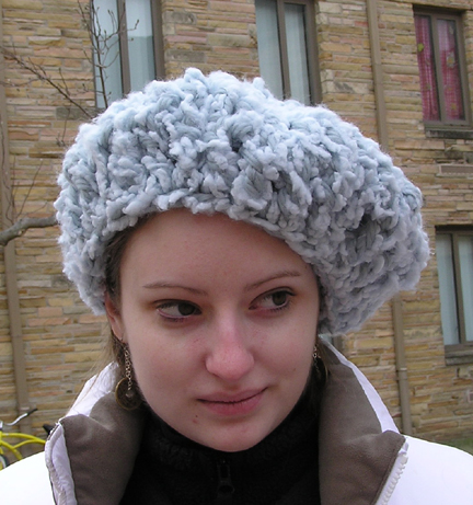 The Russian Crocheted Hat