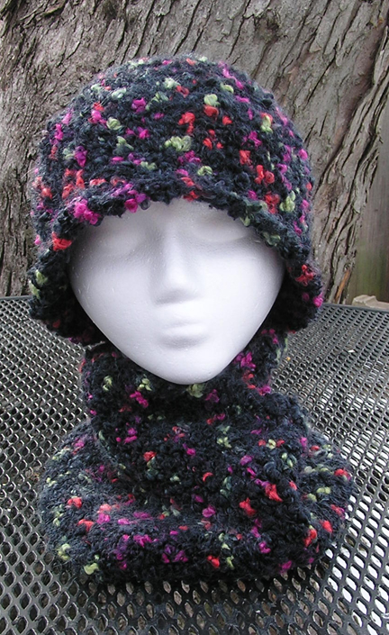 Scorpius Hat & Infinity Cowl Scarf