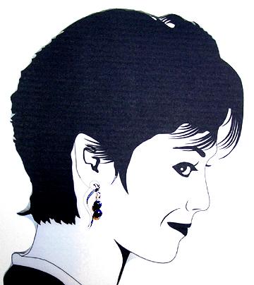 sodalite Hypoallergenic Earrings