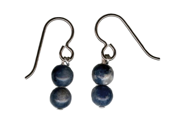 sodalite Hypoallergenic Earrings