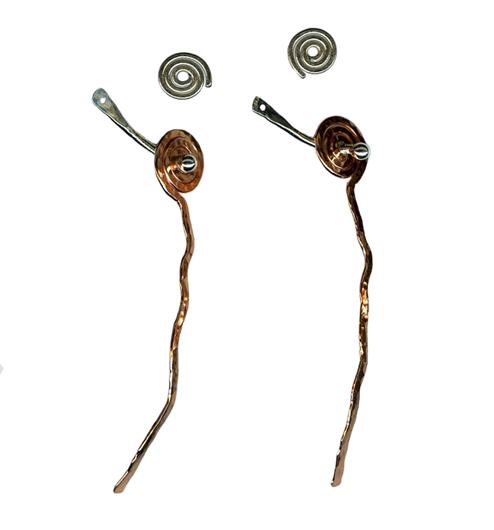 hypoallergenic dangle earring jackets