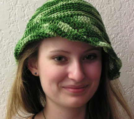 Spring Fancy Crochet Hat