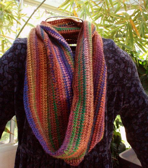custom mobius scarf