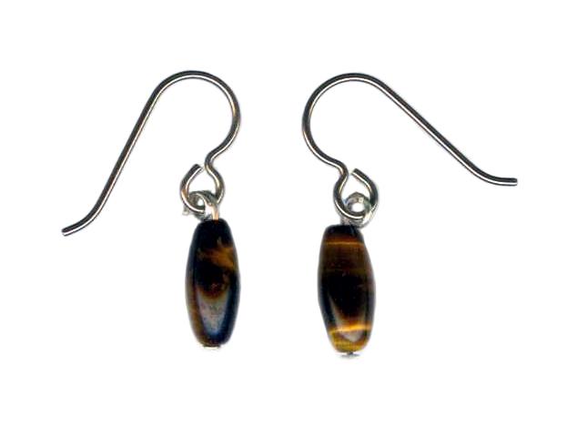 tiger eye Hypoallergenic Earrings