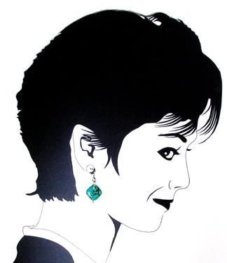 turquoise marcasite Hypoallergenic earrings