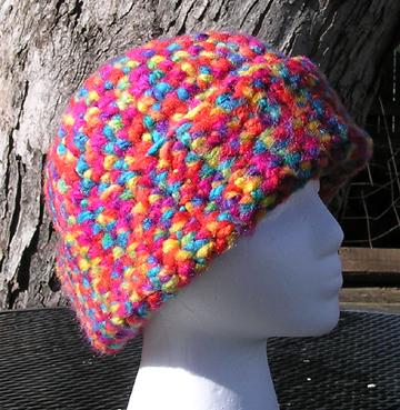 Wichita Crochet Hat Side View