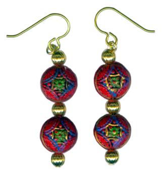 hypoallergenic earrings by Women Who Bead