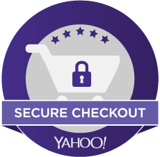 This store uses Yahoo's secure encryption at checkout to protect data