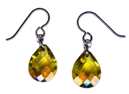 hypoallergenic cubic zirconia earrings